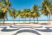 Rio Promenade de la plage