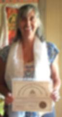 Evelyne, Enseignante du Centre Paramita