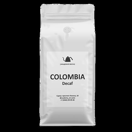 """Кофе в зернах """"Colombia Decaf"""""""