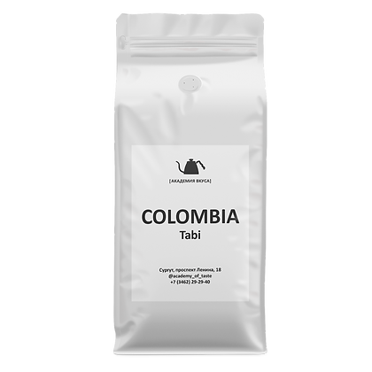 """Кофе в зернах """"Colombia Tabi"""""""