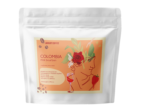 Colombia Pink Bourbon Natural
