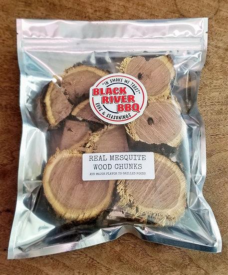 Real Mesquite Wood Chunks