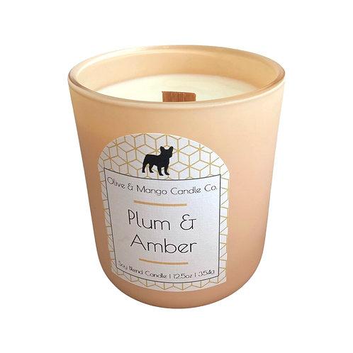 Plum & Amber Jar Candle