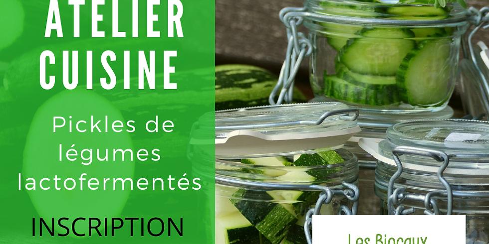 Pickles de légumes lactofermentés  (1)