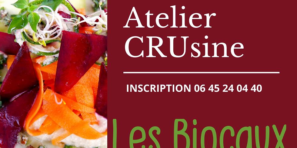 La CRUsine végétale, une cuisine innovante, vivante et créative