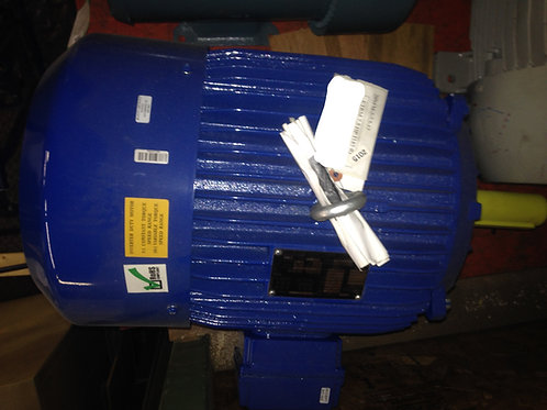 Elektrim AC Motor CAT# 20NFM-3-7.5-12, 7.5 HP, 1200 RPM, 245T FR, 208-230/460 V