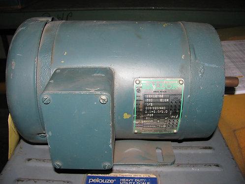 Baldor AC Motor CAT# CM3538, .5 HP, 1725 RPM, 56C Frame, TEFC, 208/220/440 Volt
