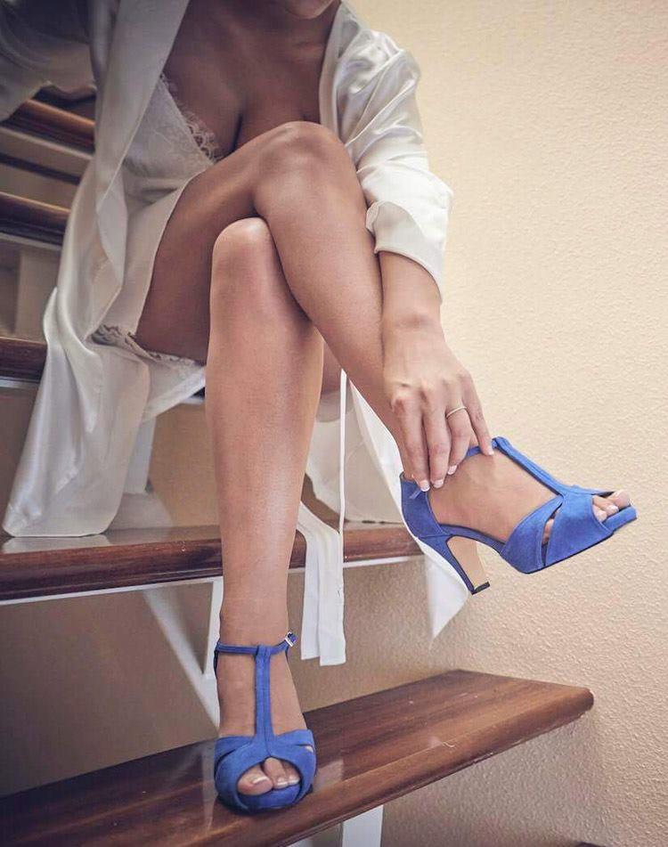 Zapatos de novia con estilo