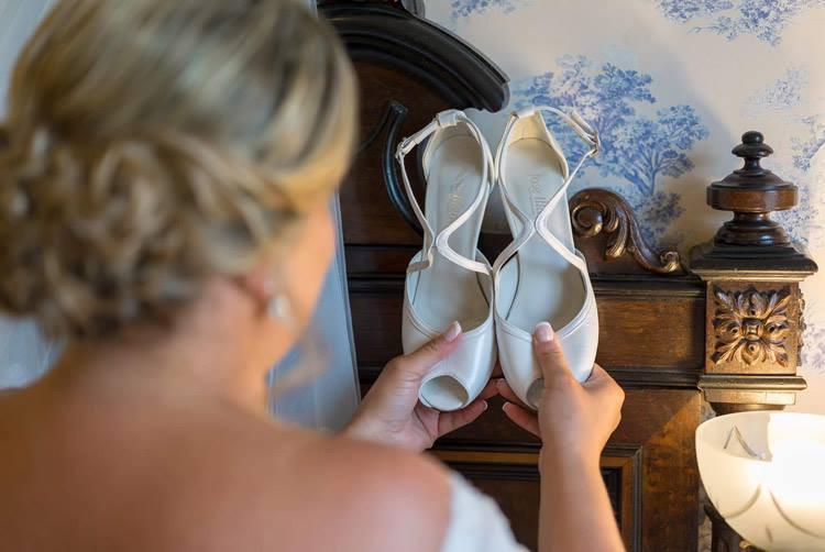 Zapatos de novia por encargo