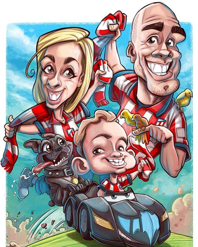 #caricaturaregalo #caricaturafamily_!Reg