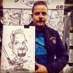 comicconvalencia2018 #comiccon _#caricat