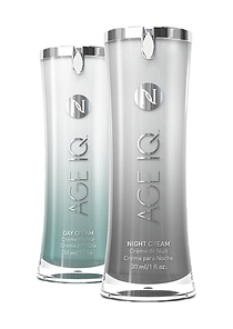 Age defying Age IQ day and night creams