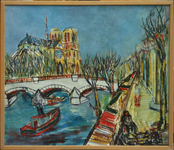Bouquinistes et Notre-Dame