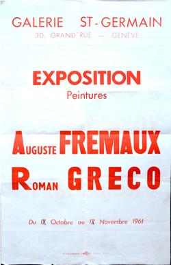 Exposition avec Auguste Frémaux