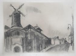 Un moulin de la galette