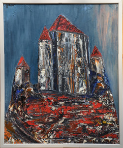 #106 - La forteresse – 60x73 - 1971