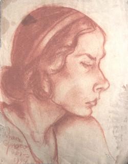 Portrait (sanguine)