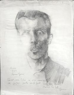 Portrait et dédicace en roumain