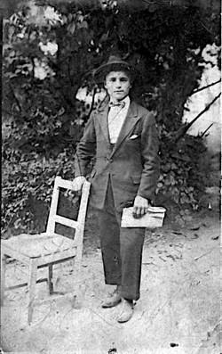 Portrait Roman Greco jeune homme