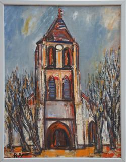 #33 – Église 65x50 – 1937