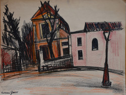 #266 – St Pierre de Montmartre – crayon