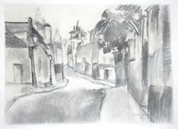 Ruelle à Montmartre