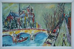 La Seine et Notre-Dame