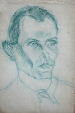 Portrait en vert