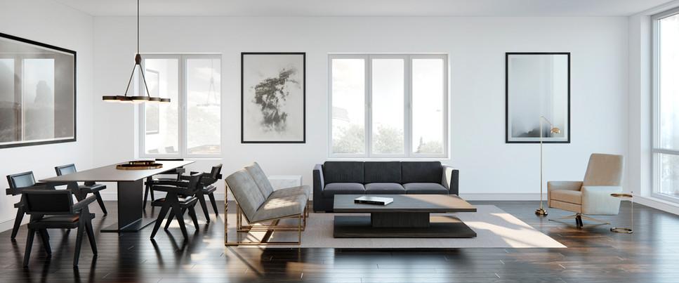 Unit 100 Living room & Dining.jpg