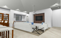 living room Kauai