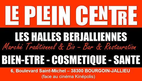 Logo du Plein Centre et des halles berjaliennes à Bourgoin-Jallieu