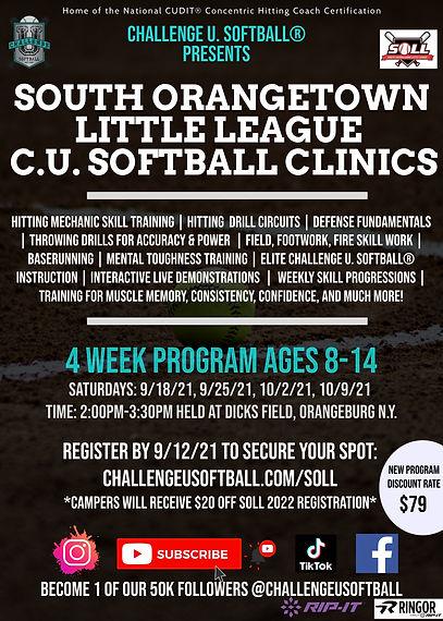SOLL Fall Clinic Flyer w Challenge U Softball.jpg