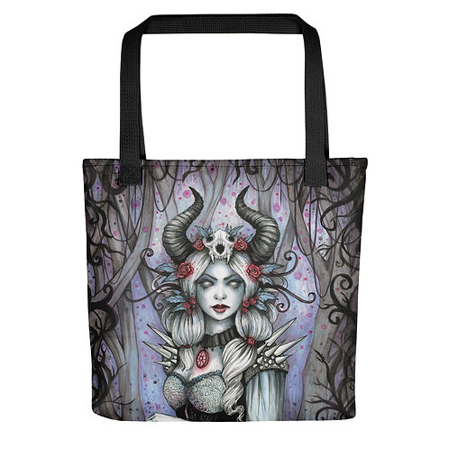 Syella the Winter Queen Witch Tote bag
