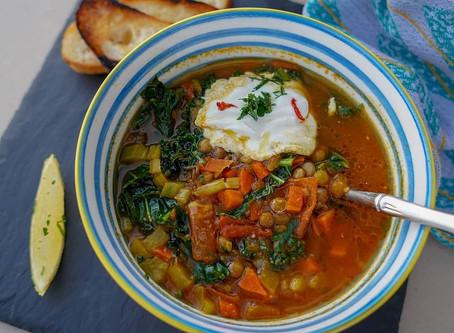 Healthy, Quick Lentil Soup