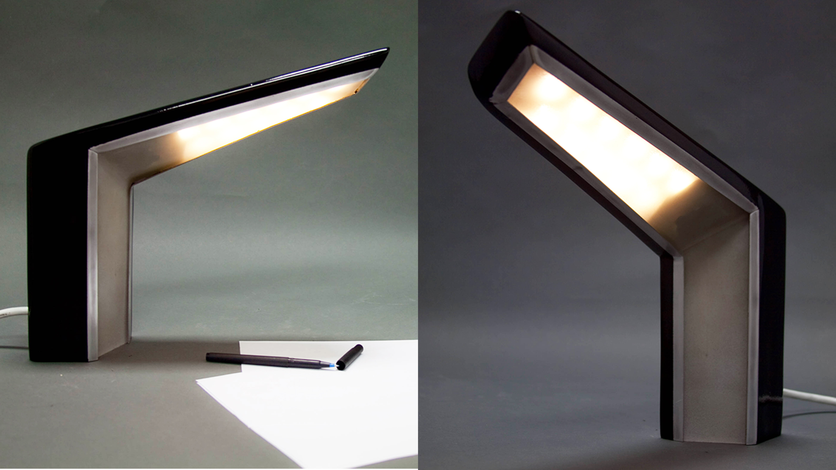 Hard Line Lamp Prototype