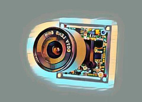 modul-s-obektivom-kamery-videonablyudeni