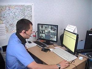 центр моніторингу, відеонагляд поліція