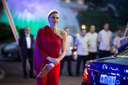 SAS Princesse Charlene - Bal de la Croix Rouge 2015