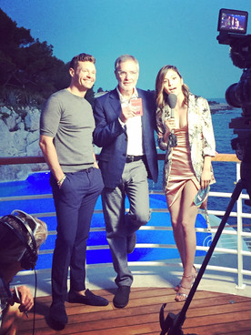 Erin Lim pour E! Entertainment au Lion Cannes Video