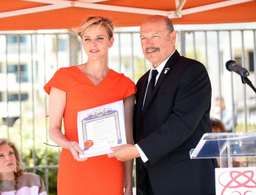 SAS Princesse Charlene - Fondation Princesse Charlene Los Angeles 2016