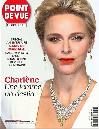 Point de Vue Hors Serie Charlene Une Femme, Un Destin