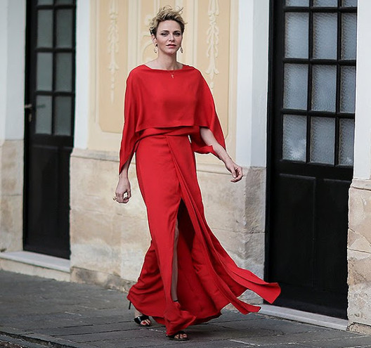 SAS Princesse Charlene - Soirée Grand Prix au Palais de Monaco 2016