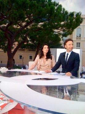 Couverture televisee du Mariage Princier pour France 2