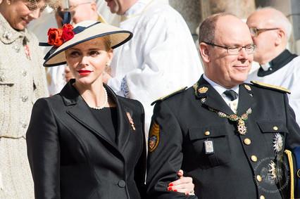 SAS Princesse Charlene - Fête Nationale Monaco 2016