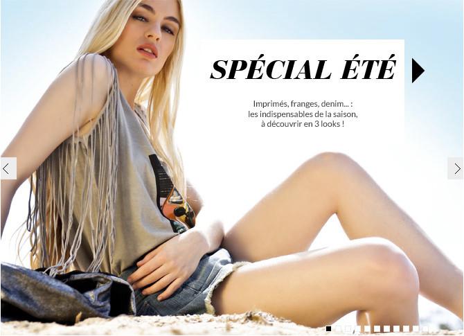 Editorial pour Elle France