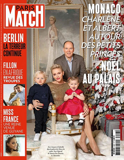 Paris Match Noel 2016 Monaco