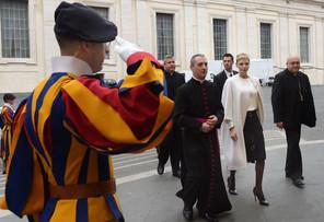 SAS Princesse Charlene - Visite Vatican