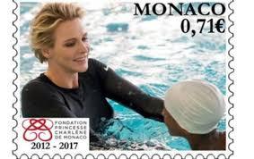 SAS Princesse Charlene - Timbre officiel Monaco 2016