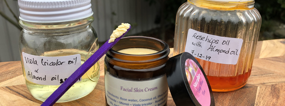 Oil Infusions used for the cream