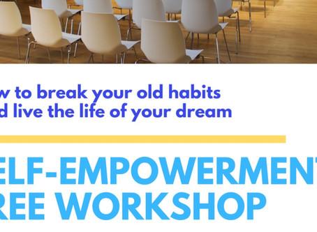 Self-empowerment workshop - 3, 10, 17, 24, 31 August 2020 in Alexandra, NZ